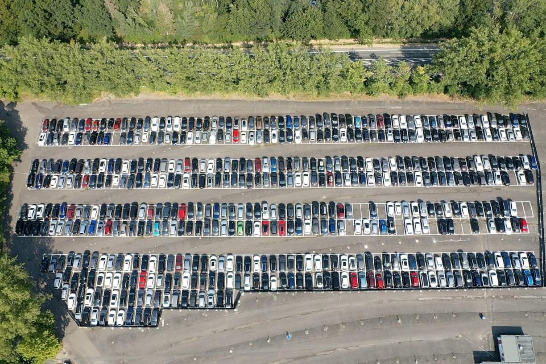 Parkfuch24 - Parken Flughafen Frankfurt - Vogelperspektive